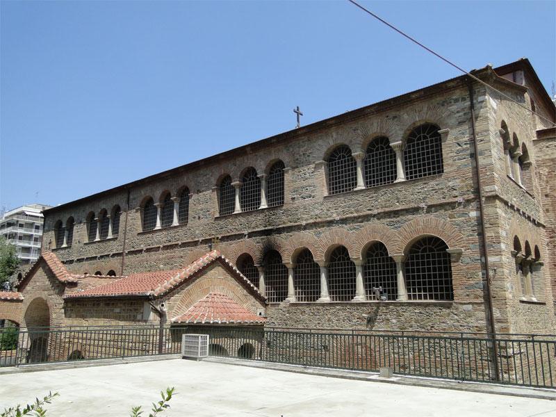 Базилика Ахиропиитос - одна из самых древнейших раннехристианских базилик