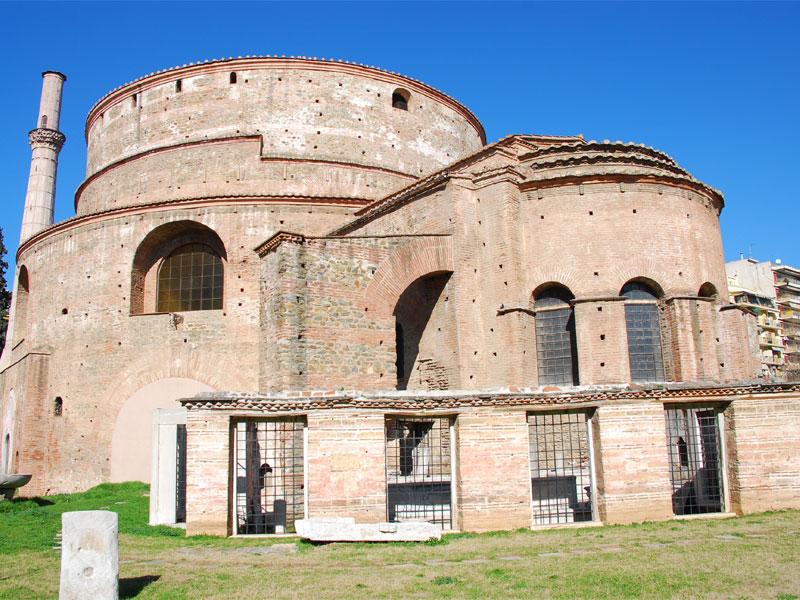 Ротонда Святого Георгия была построена на месте мавзолея для императора Галерия