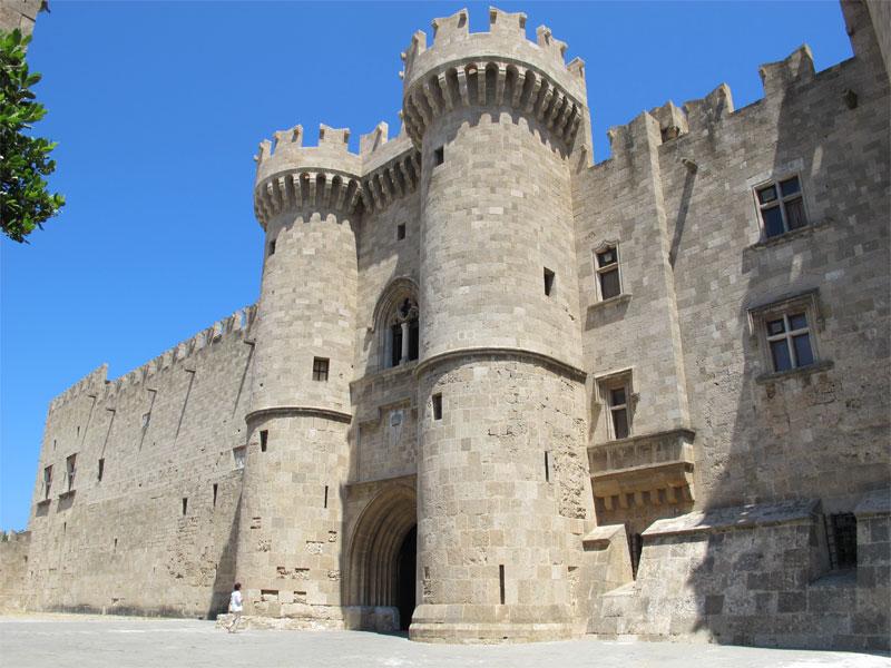 Родосская крепость была самой неприступной из христианских крепостей